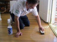 Чем помыть линолеум после ремонта