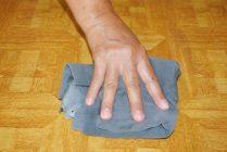 Как удалить засохшую краску с линолеума