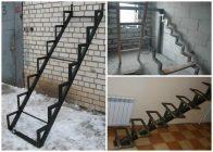 Лестница из металла своими руками пошаговая инструкция