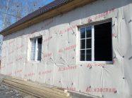 Пароизоляция для стен деревянного дома изоспаном