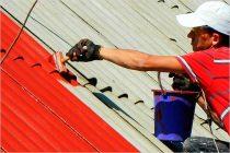 Чем можно покрасить старый шифер на крыше