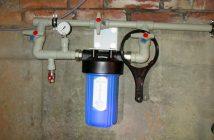 Фильтр грубой очистки воды из скважины разновидности