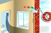 Приток воздуха в квартиру через фильтр