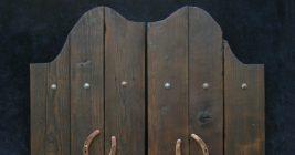 Ковбойские двери своими руками