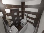 Квадратура ванной комнаты в панельном доме