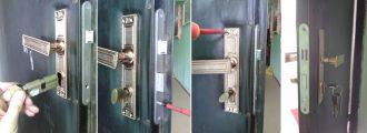 Как сменить личинку замка в железной двери