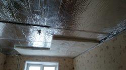 Как правильно сделать шумоизоляцию потолка в квартире