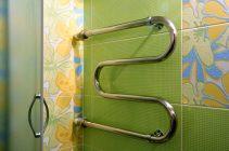 Как установить полотенцесушитель в ванной самостоятельно