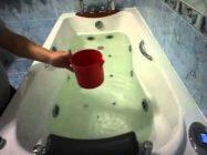 Как почистить гидромассажную ванну в домашних условиях
