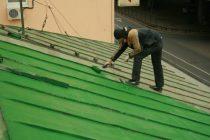 Чем лучше покрасить железную крышу дома