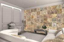 Чем можно декорировать стены вместо обоев