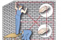 Как правильно выставить маячки для выравнивания стен